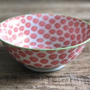 Anthropologie | Patterned Serving Bowl